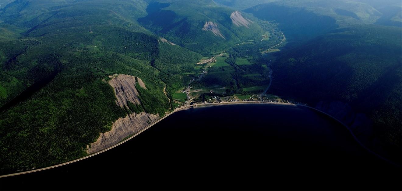 Mont St-Pierre - Gaspésie