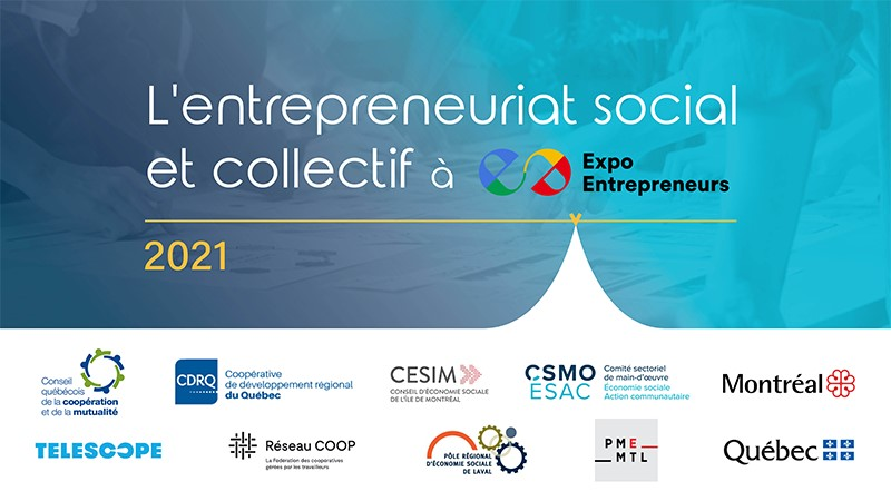 Entrepreneuriat social à Expo Entrepreneurs