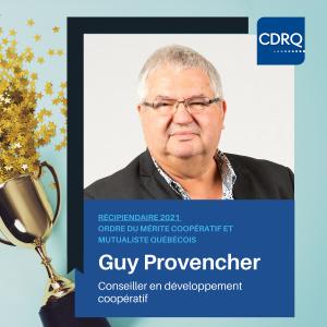 Guy Provencher, ordre du mérite 2021